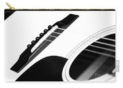 White Guitar 10 Carry-all Pouch