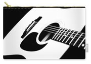 White Guitar 4 Carry-all Pouch