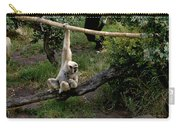 White Handed Gibbon 1 Carry-all Pouch