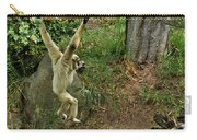 White Handed Gibbon 3 Carry-all Pouch