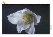 White Helleborus Bloom Carry-all Pouch