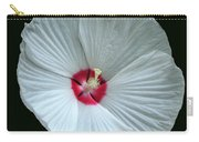 White Hibisci #18 Carry-all Pouch