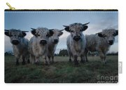 White High Park Cow Herd Carry-all Pouch
