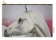 White Horse- Arabian Carry-all Pouch