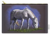 White Horse Grazing Carry-all Pouch