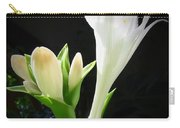 White Hostas Blooming 7 Carry-all Pouch