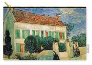 White House At Night Carry-all Pouch by Vincent Van Gogh