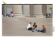 Hanging Out On Steps Carry-all Pouch