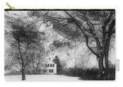 White House In Winter Carry-all Pouch