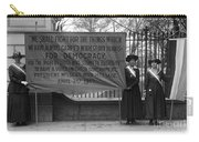 White House: Suffragettes Carry-all Pouch