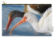 White Ibises Carry-all Pouch