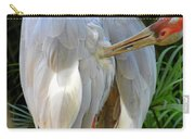 White Ibis At The Zoo Carry-all Pouch