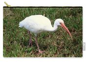 American White Ibis Bird Carry-all Pouch