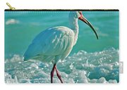 White Ibis Paradise Carry-all Pouch