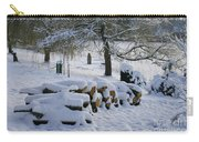 White Idyll Carry-all Pouch