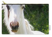 White Indian Pony Carry-all Pouch