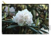 White Inflorence Of  Rhododendron Plant Carry-all Pouch
