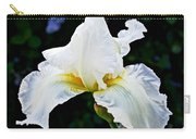 White Iris At Pilgrim Place In Claremont-california Carry-all Pouch