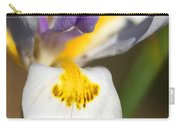 White Iris One Carry-all Pouch