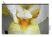 White Iris Study No 1 Carry-all Pouch