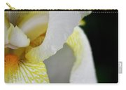 White Iris Study No 3 Carry-all Pouch