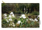 White Irises Carry-all Pouch