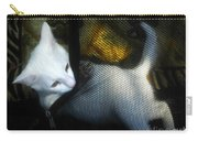 White Kitten Carry-all Pouch