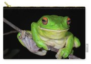 White-lipped Tree Frog Carry-all Pouch