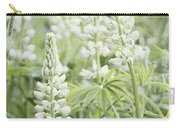 White Lupines Carry-all Pouch