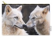 White Magic Carry-all Pouch by Sandi Baker