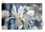 White Magnolia  Carry-all Pouch by Elena Elisseeva