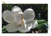 White Magnolia Flower 01 Carry-all Pouch