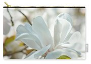 White Magnolia Tree Flower Art Prints Magnolias Baslee Troutman Carry-all Pouch