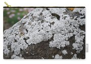 White Moss Carry-all Pouch
