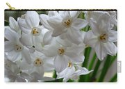 White Narcissi Spring Flower 2 Carry-all Pouch