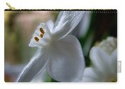 White Narcissi Spring Flower 4 Carry-all Pouch