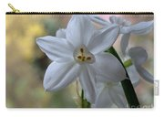 White Narcissi Spring Flowers 3 Carry-all Pouch