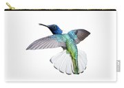 White Necked Jacobin Trinidad Carry-all Pouch