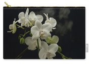 White Orchid And Reflection Carry-all Pouch