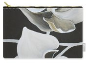 White Orchid Middle Section Carry-all Pouch