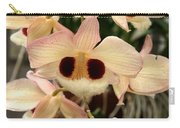 White Orchids With A Hint Of Pink Carry-all Pouch