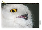 White Owl Carry-all Pouch
