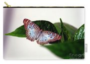 White Peacock Butterfly 2 Carry-all Pouch