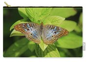 White Peacock Butterfly I Carry-all Pouch