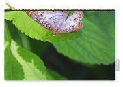 White Peacock Butterfly II Carry-all Pouch