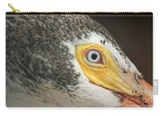 White Pelican Eye Carry-all Pouch