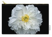 White Peony Carry-all Pouch
