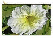 White Petunia - Solanaceae Carry-all Pouch