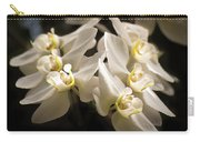 White Phalaenopsis Blossom Carry-all Pouch