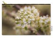White Plum Blossom Carry-all Pouch
